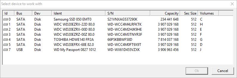 نرم افزار تست هارد دیسک